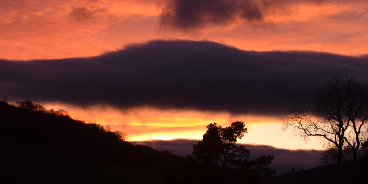 Ediglasie Estate Sonnenuntergang
