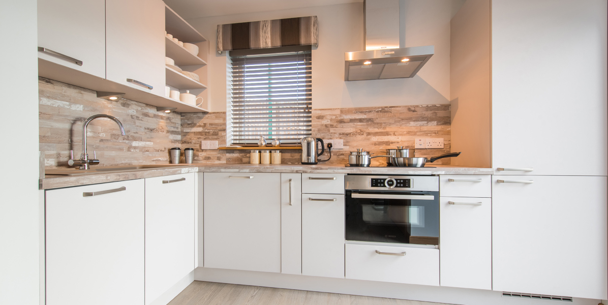 lodge fitted kitchen