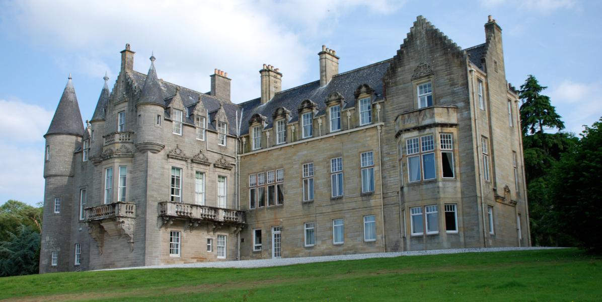 Newark Castle Scotland exterior