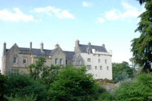 Extérieur du château de Newark Ayr
