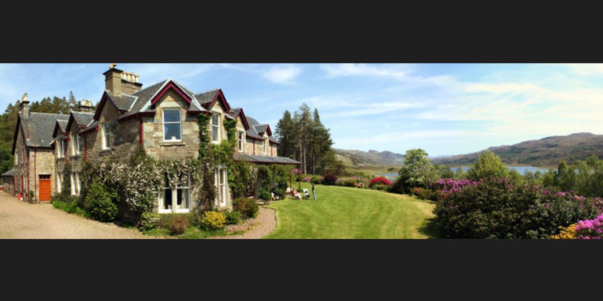 Schottische Highland Shooting Lodge