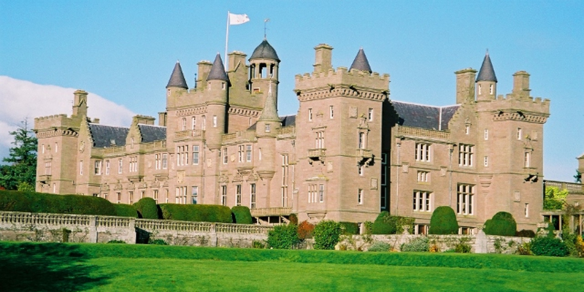 Scottish country castle