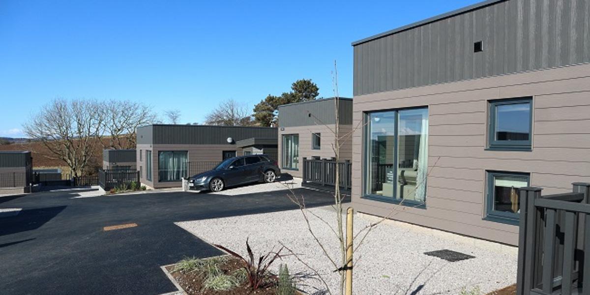 luxury lodges exterior