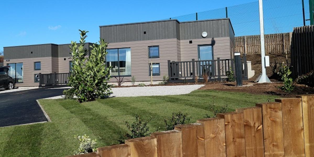luxury lodge single exterior