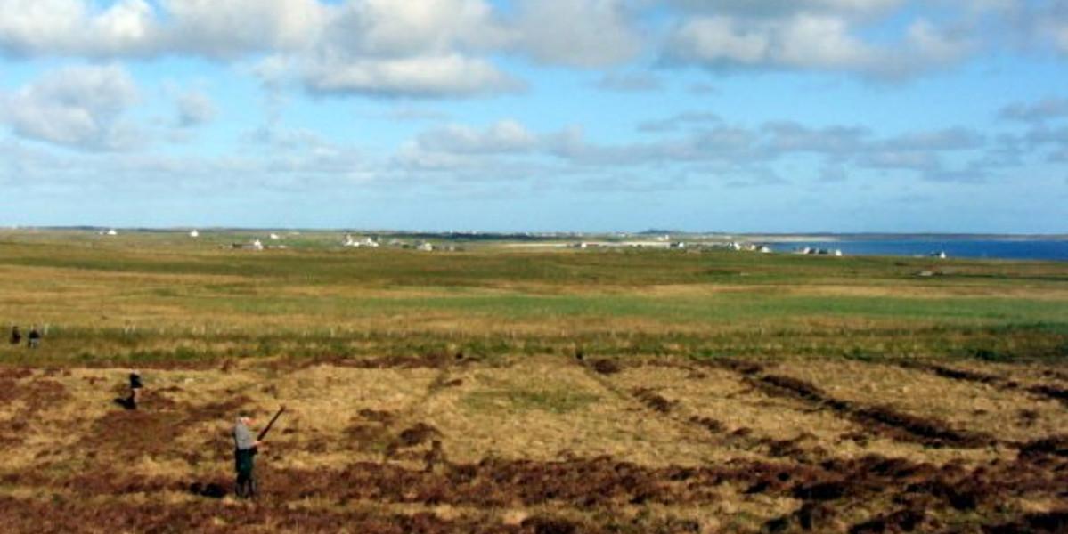 Scottish island machar land
