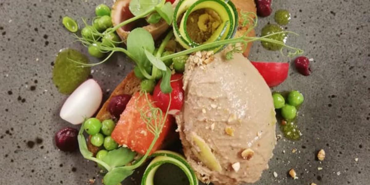 Scottish hotel plate of food