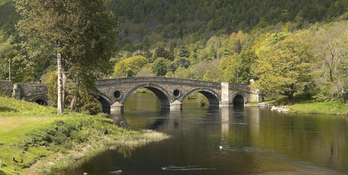 Bridge over River Tay at Kenmore