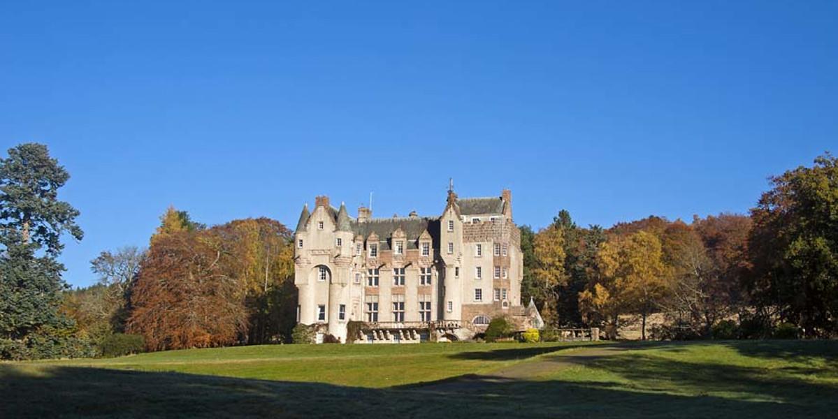 facade of Scottish Castle