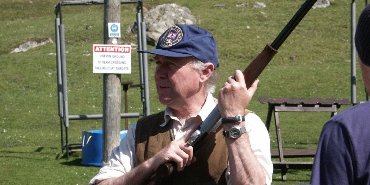 clay pigeon target shooting