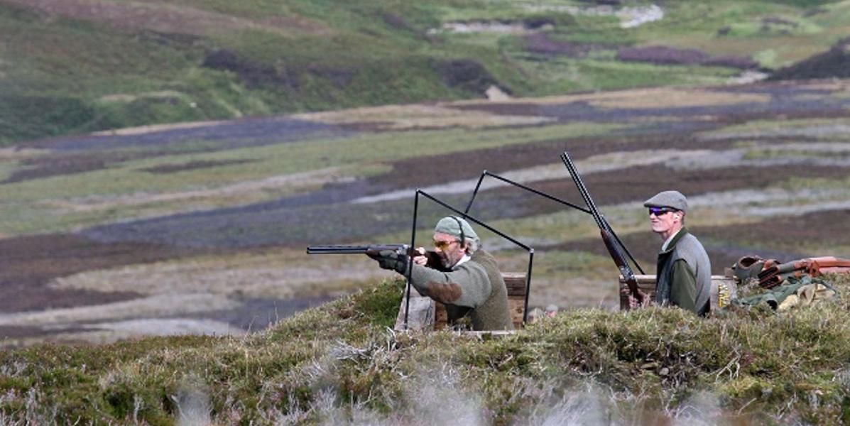 grouse butt avec pistolet et chargeur Ecosse