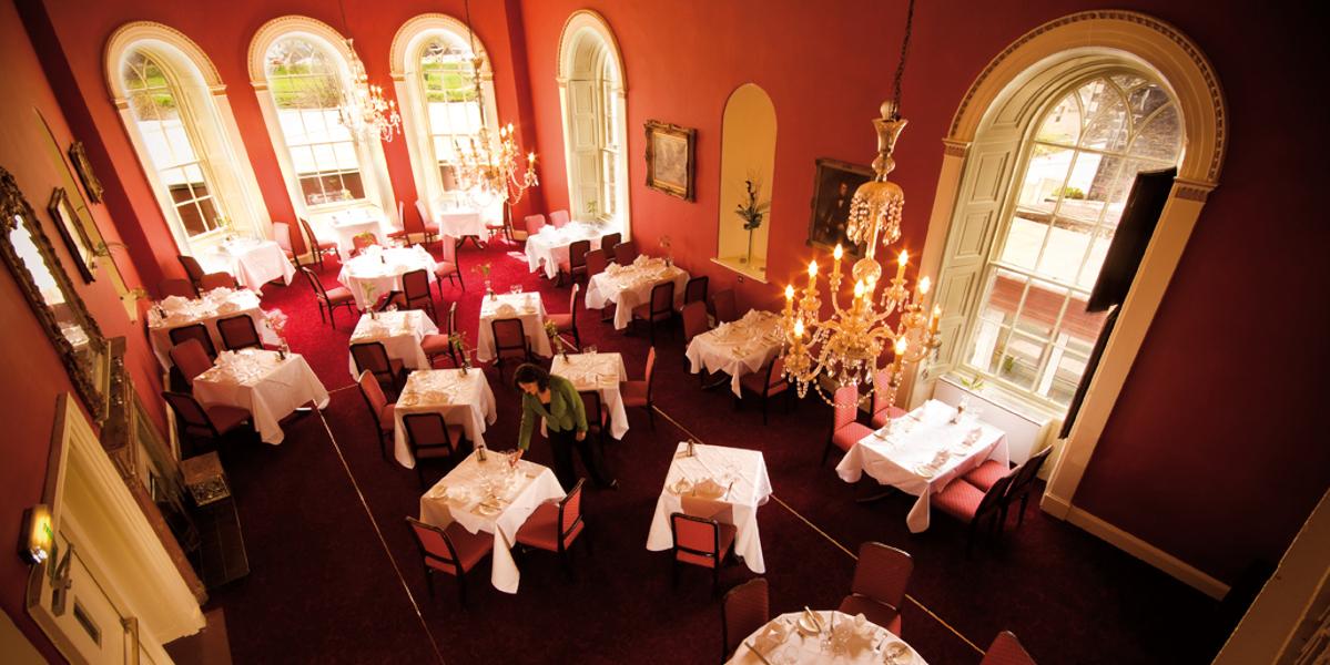 Adam restaurant in the tontine hotel peebles