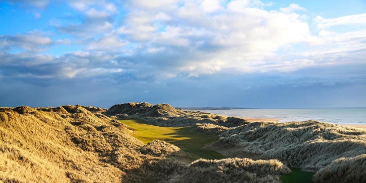 Scottish links golf course