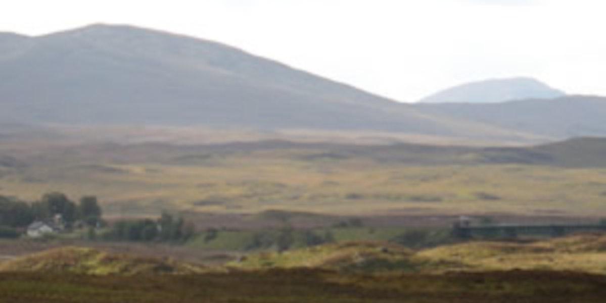 La lande écossaise
