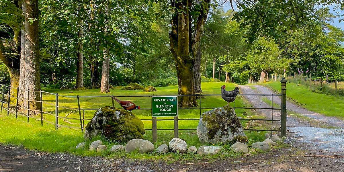 gateway to Glen Etive