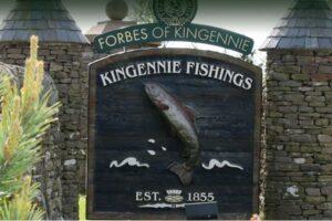 cartello d'ingresso a Forbes of Kingennie