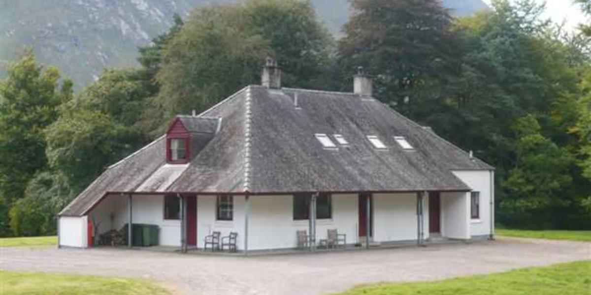 Scottish hunting lodge