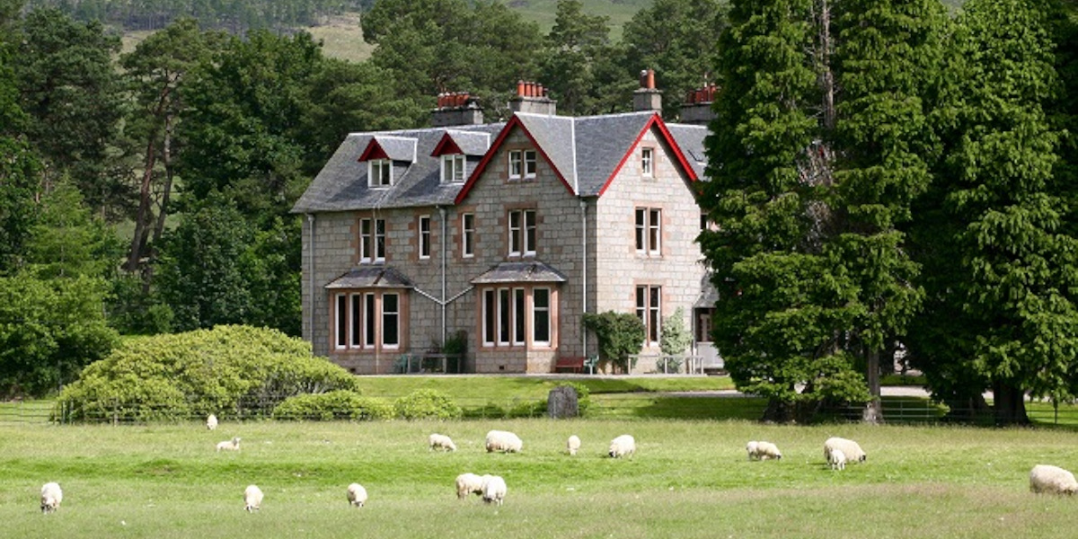 Scottish Highland Lodge