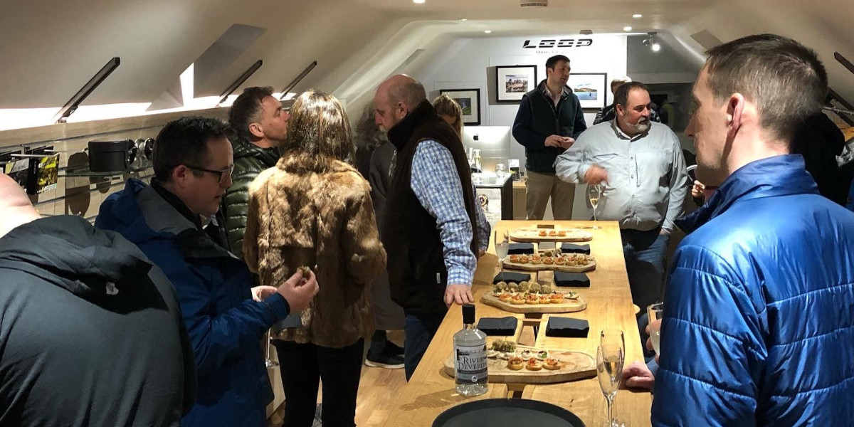tackle shop opening buffet