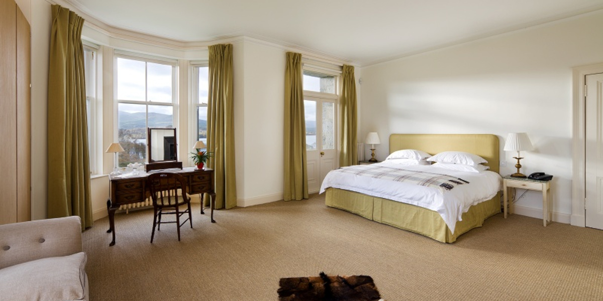 Scottish country house double bedroom