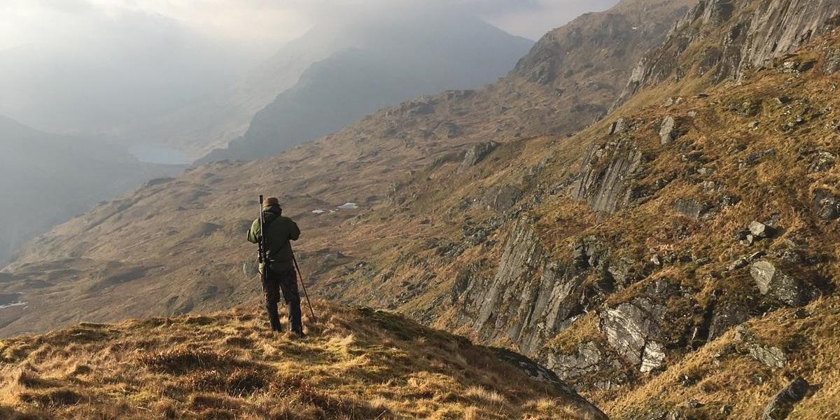 stalking in Scottish mountains