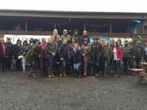 ladies' group photo