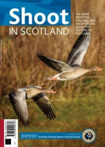 shoot in scotland 2019 cover with geese