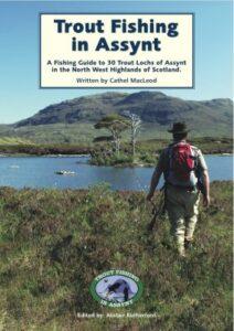 copertina del libro pescatore a mosca alla trota