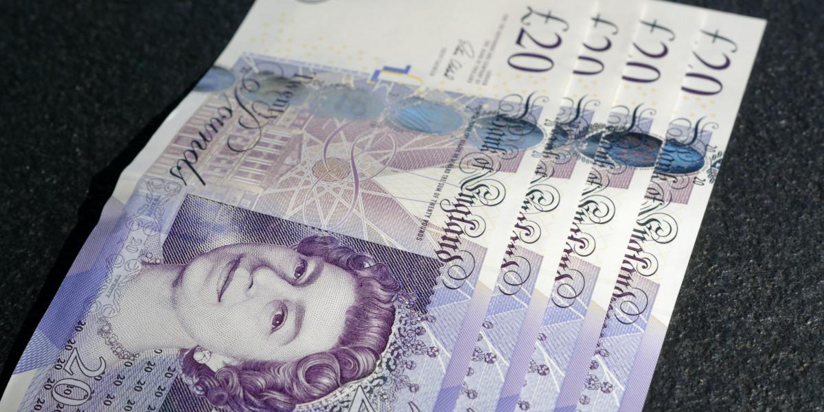 £ 20 sedlar