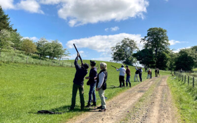 Guest Blog : Shooting Club and Simulated Game at Teasses Estate