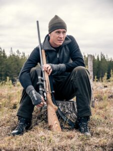 man in outdoor gear