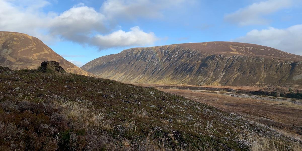 view of open moorland