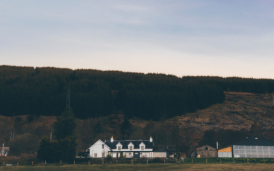 Experience the wilderness of Highland Perthshire with a stay at Boreland Loch Tay